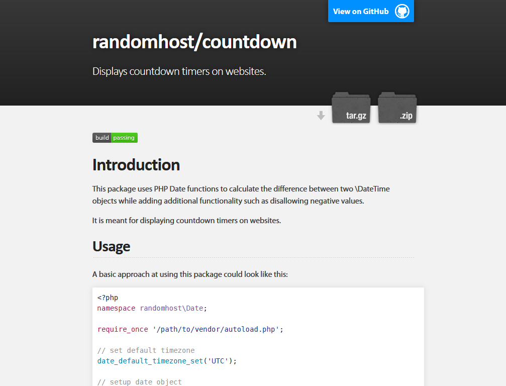 randomhost/countdown